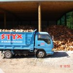 Styx Firewood Blue Truck